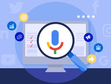 Voice search optimization services